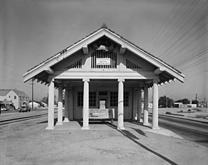 Lynwood Pacific Electric Railway Depot Bernard Maybeck