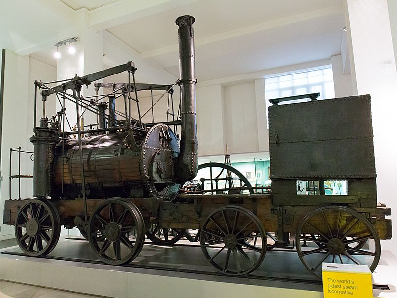 Puffing Billy side Science Museum London
