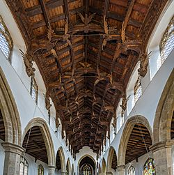 St Wendreda's Church Ceiling, March, Cambridgeshire, UK - Diliff