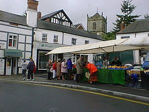 The market at Church Stretton - geograph.org.uk - 84494