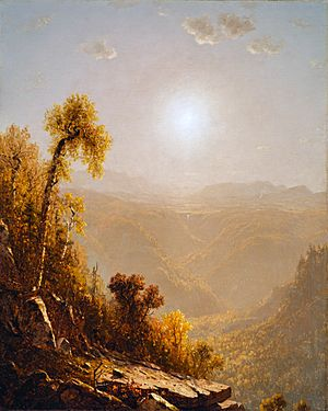 WLA lacma Sanford Robinson Gifford October in the Catskills 1880