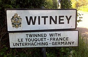 Witney is twinned with Unterhaching, Germany and Le Touquet, France