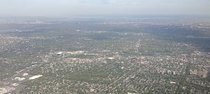 2014-05-07 16 21 13 View of Hackensack, New Jersey from an airplane heading for Newark Airport-cropped