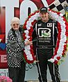 2017 NSTC winner Alex Prunty with Jody Deery