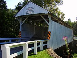 Carmichaels Covered Bridge (1889)National Register of Historic Places