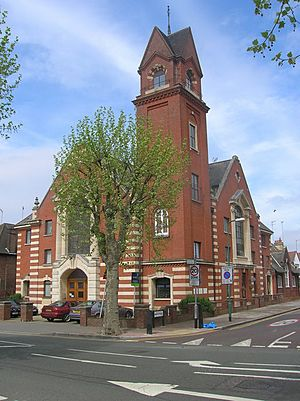 Cricklewood Methodist Church, Anson Road at the Junction with Sneyd Road - geograph.org.uk - 412750