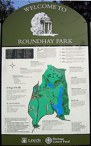 Roundhay Park Sign