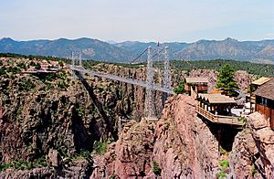 Royal gorge bridge 1987
