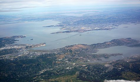 San Francisco Bay from the air in May 2010 01