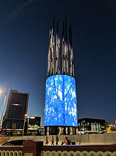 Yagan Square - Digital Tower, February 2018