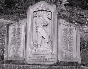 Bartley West Virginia Miners Memorial