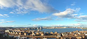Cardiff Bay from Penarth