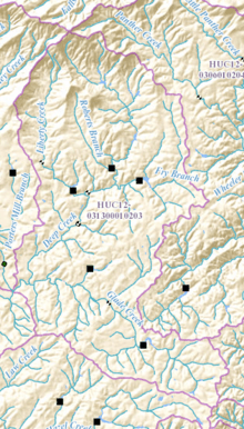 HUC 031300010203 - Deep Creek