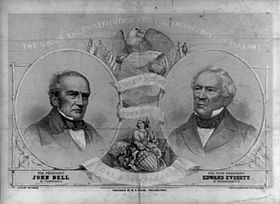 John Bell and Edward Everett, Constitutional Union Party