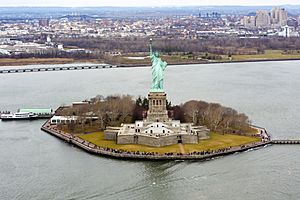 Liberty Island photo D Ramey Logan