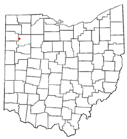 Location of Dupont, Ohio