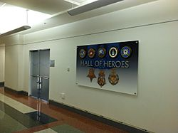 Pentagon Hall of Heroes Entrance