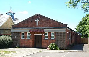 St Michael and All Angels Church, Dunsbury Way, Leigh Park (May 2019) (Church Hall)