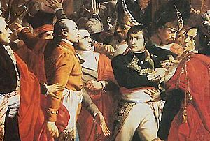 Bonaparte in the 18 brumaire
