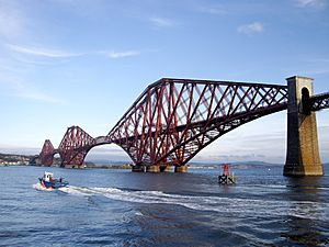 Forth rail bridge - paint will last 40 years now