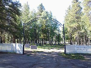 Hebrew Cemetery - Entrance - Leadville CO - August 2015