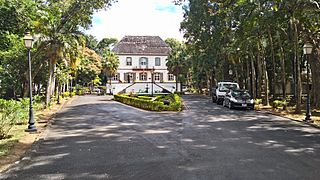 National History Museum building, Mahebourg, Mauritius