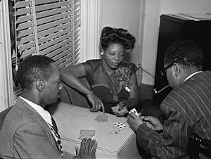 Tadd Dameron, Mary Lou Williams and Dizzy Gillespie. (Gottlieb)