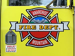 Anarchist mountain fire department
