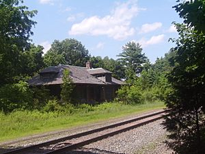 Belle Mead Station on the West Trenton