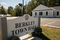 Berkley's new Town Hall was opened in 2015