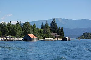 Kootenay Lake Boathouses