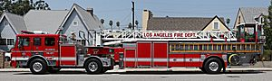 Lafd ladder truck