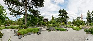 London Kew Gardens Japanese Part pano 5