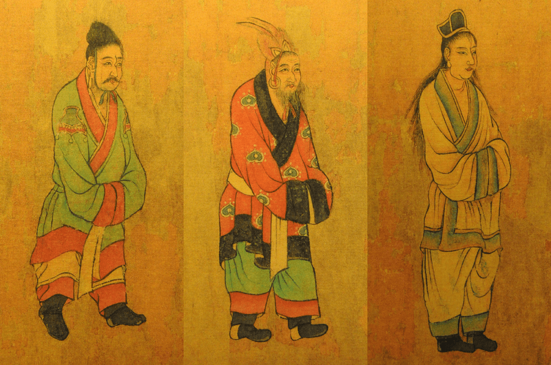7th century painting of Koreans