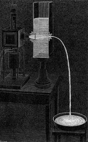 DanielColladon's Lightfountain or Lightpipe,LaNature(magazine),1884