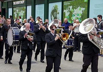 Harrogate Band in Leeds
