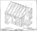 Isometric Drawing of Lasource-Durand Framing-Ste in Genevieve MO