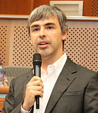 Larry Page in the European Parliament, 17.06.2009 (cropped)