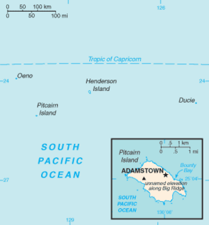 Pitcairn Islands-CIA WFB Map