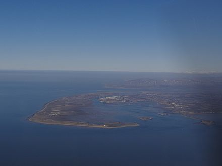 Barrow-in-Furness aerial from the south