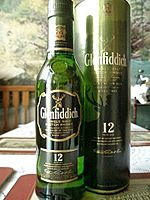Bottle of Glenfiddich 12yo