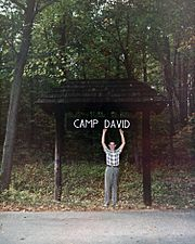 David Eisenhower in Camp David