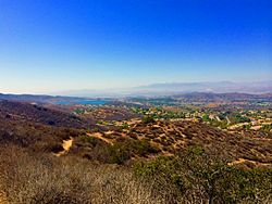 Long-Canyon-Trail-Simi-Valley-with-Calleguas-Municipal-Water-District-Thousand-Oaks-in-the-background