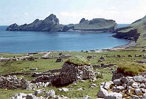 Village Bay, Hirta, St Kilda.