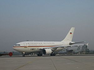 Airbus A310-300 (German Air Force) Islamabad