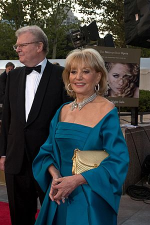 Barbara Walters at Met Opera