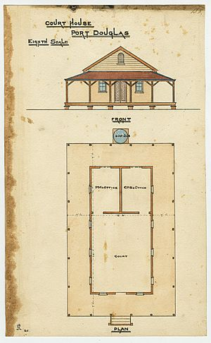 Port Douglas Court House - Architectural Plans, 1879