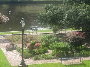Riverwalk in Natchitoches, LA IMG 1942