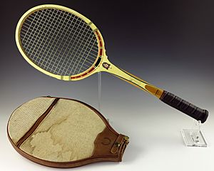 Tennis racket owned by Gerald R. Ford