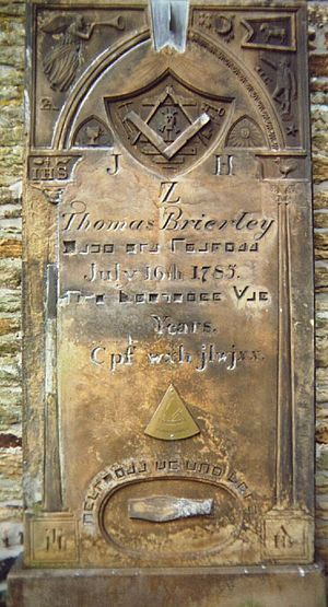 Thomas Brierley memorial